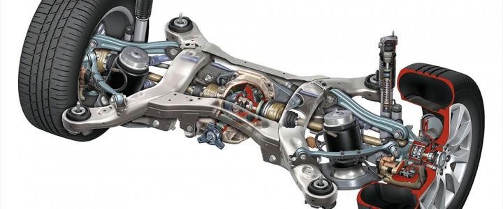 Ремонт ходовой части, рулевых механизмов, тормозных систем